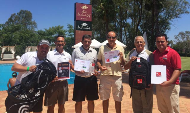 The Amateur Golf Cup brill� en Isla Canela