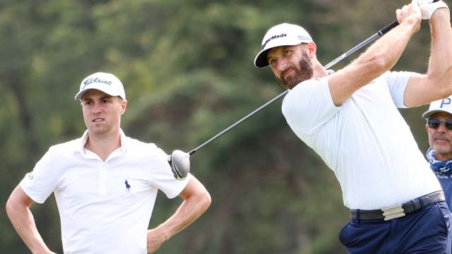 Dustin Johnson-Justin Thomas