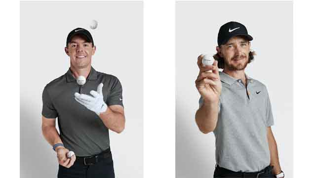 Rory McIlroy plays TP5X #22 and Tommy Fleetwood plays TP5X #19