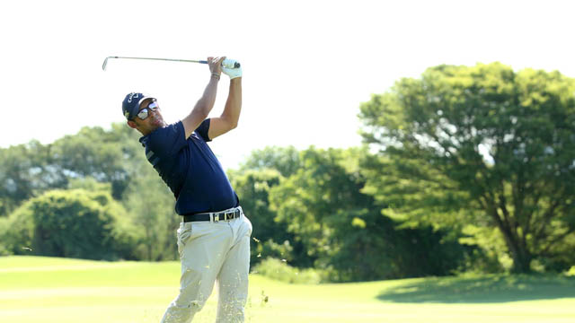 Pablo Larrazábal sigue de dulce en Leopard Creek