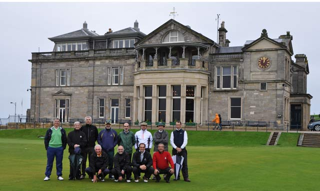 Por fin, el Old Course of St. Andrews