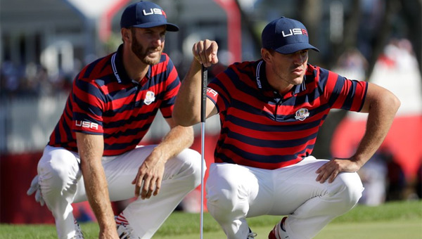 Brooks Koepka y Dustin Johnson pelea Ryder Cup