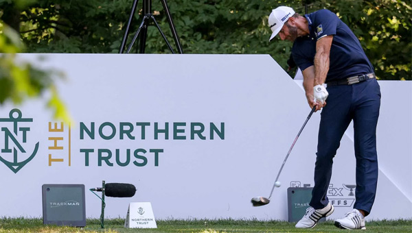 Dustin Johnson victoria The Northern Trust 2020