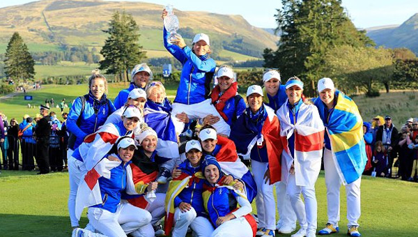 Equipo Europa victoria Solheim Cup 2019