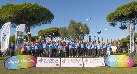 Cádiz ya ha decidido el Amateur Golf World Cup Champion Team 2017