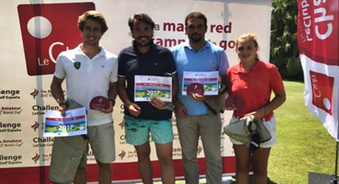 Costa Ballena acogió una cita premium del The Amateur Golf World Cup LeClub