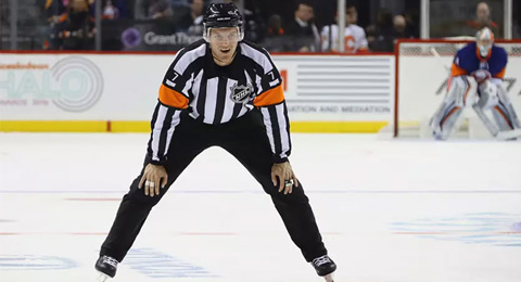 De arbitrar en la NHL a disputar el US Open