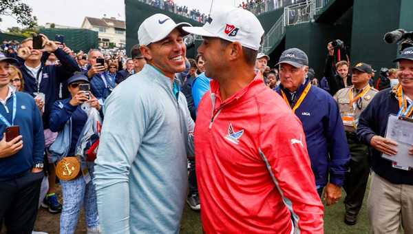 Gary Woodland y Brooks Koepka final US OPen 2019