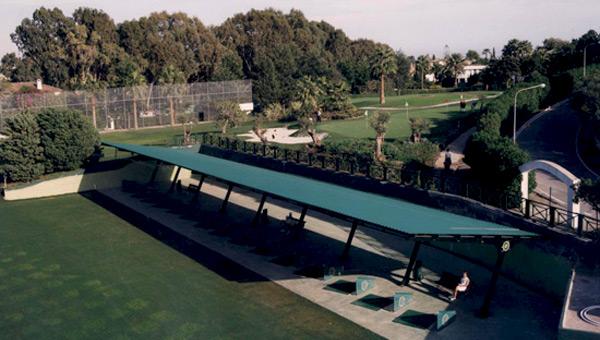 Campo prácticas Guadalmina Golf