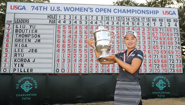 Jeongeun Lee6 victoria US Women's Open 2019