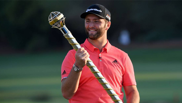 Jon Rahm final European Tour Dubai