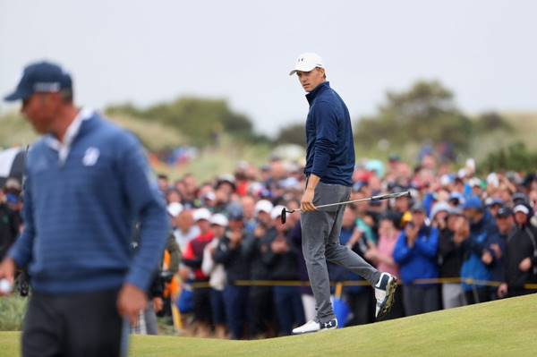 Jordan Spieth y Matt Kuchar The Open 2017 jornada final