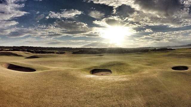 Los bunkers del Old Course