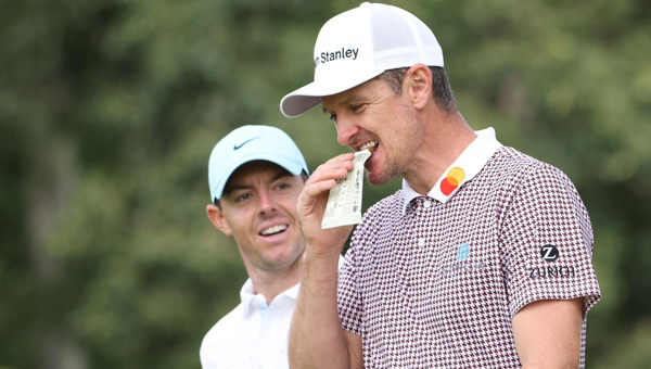 Rory McIlroy y Justin Rose US Open