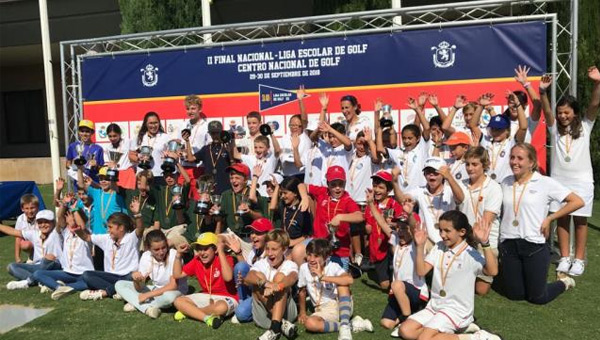 Liga Escolar de Golf Madrid RFEG