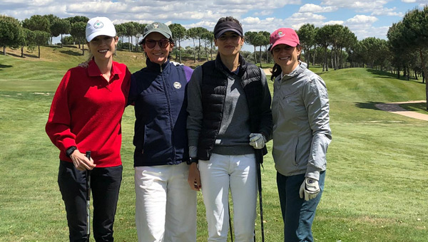 Jugadoras amateurs federadas golf