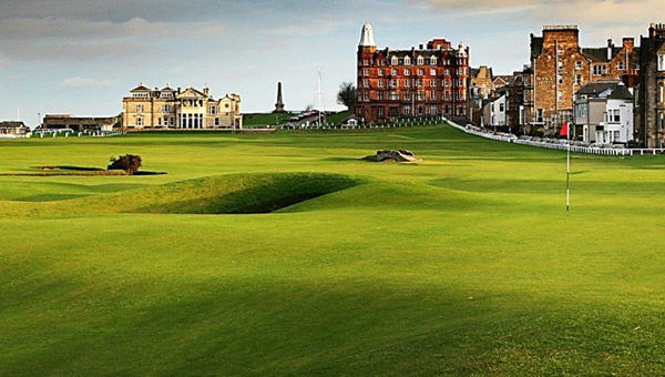 The Old Course en St. Andrews