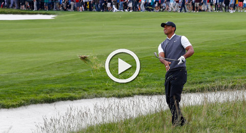 Highlights de la primera vuelta de Tiger Woods en Pebble Beach