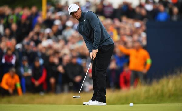 Rory McIlroy segunda ronda The Open 2017