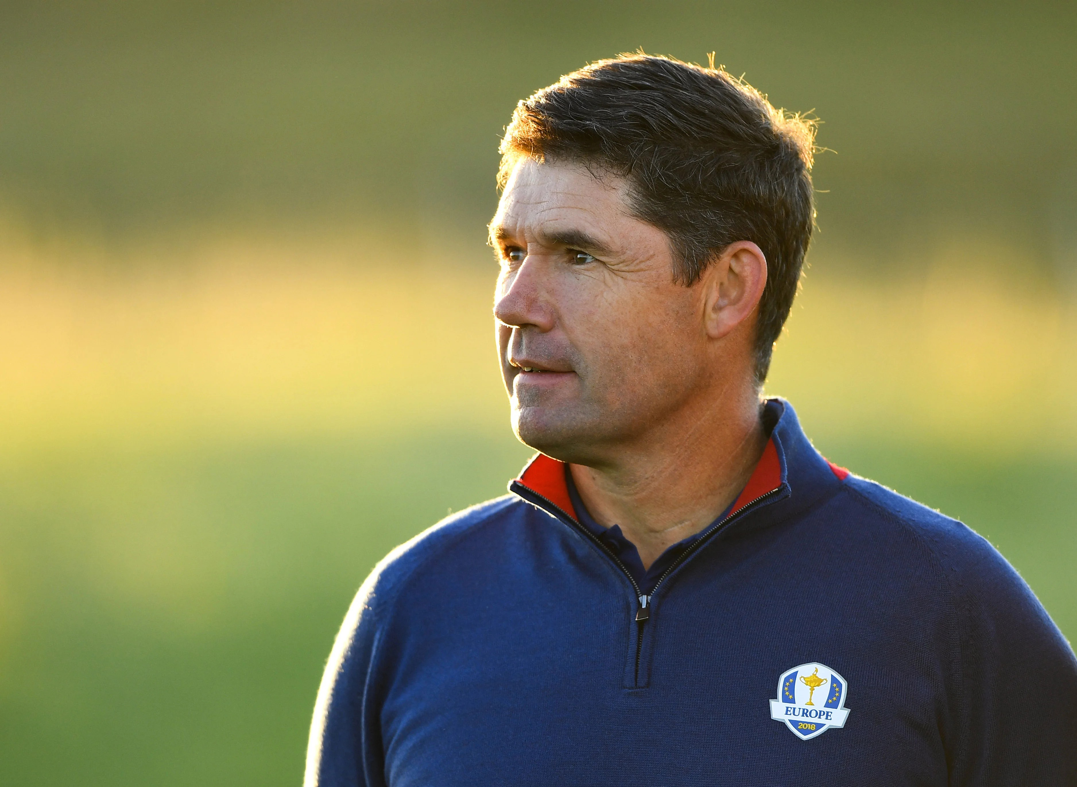 Padraig Harrington capitán Europea Ryder