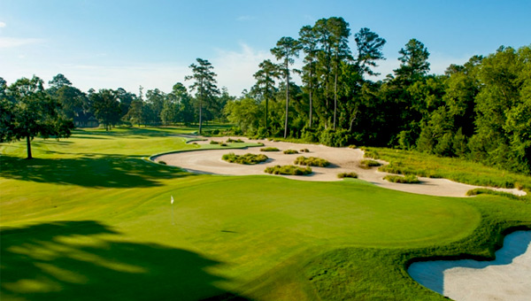 The Whispering Pines Golf Course