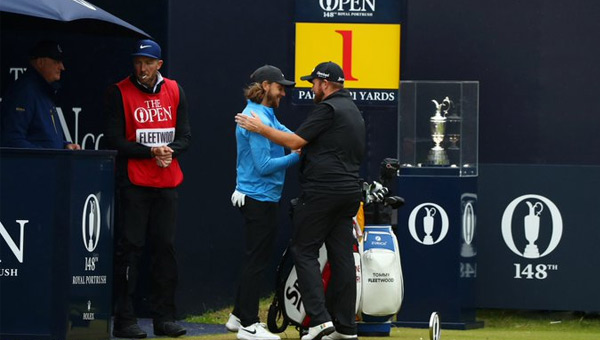 Shane Lowry victoria the open 2019 TOmmy Fleetwood